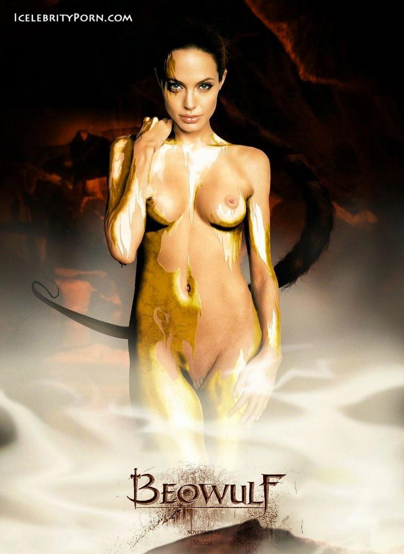 Las fotos de Angelina Jolie desnuda a los 20 aos