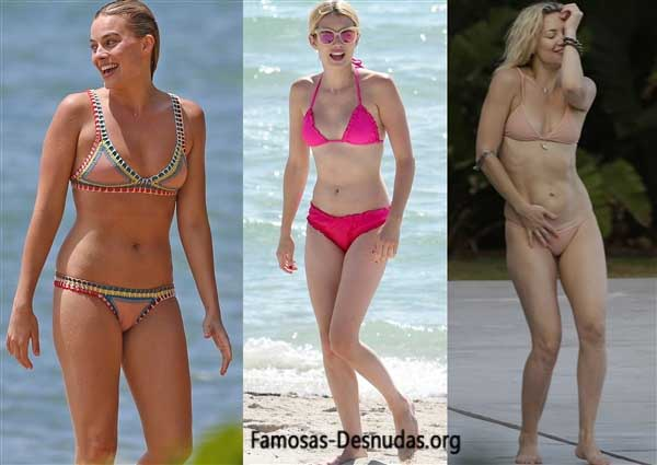 Famosas en Bikini - MARGOT ROBBIE, EMMA ROBERTS Y KATE HUDSON -famosas-desnudas-en-playa-xxx-porno-celebrity-porn-sex-hot-descuidos-tetas-vagina (14)