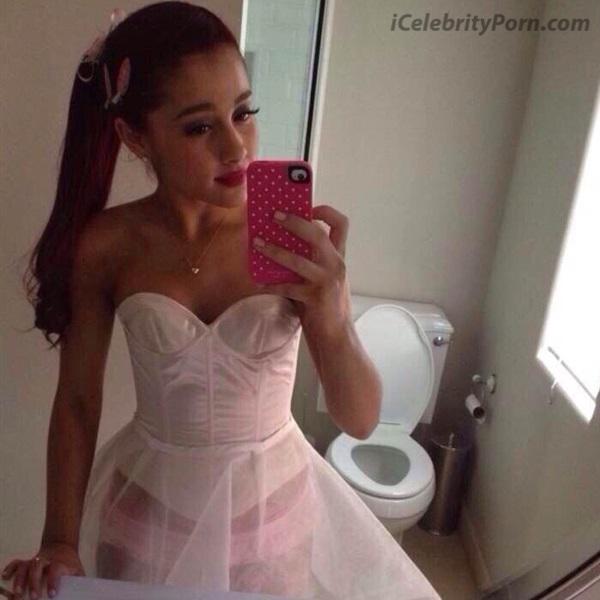 Ariana Grande Desnuda Descuido Upskin Calzon -enseñando-vagina-panocha-concha-trasero-tetas-culo-anal-video-sex-tape-leaked-nude-celebrity (6)