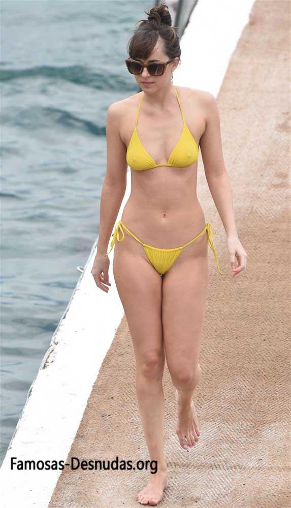 xxx Dakota Johnson Desnuda Mostrando las Tetas en la Playa -famosas-en-toplles-descuidos-tetas-vulva-porno-celebrity-porn-icelebrityporn (2)