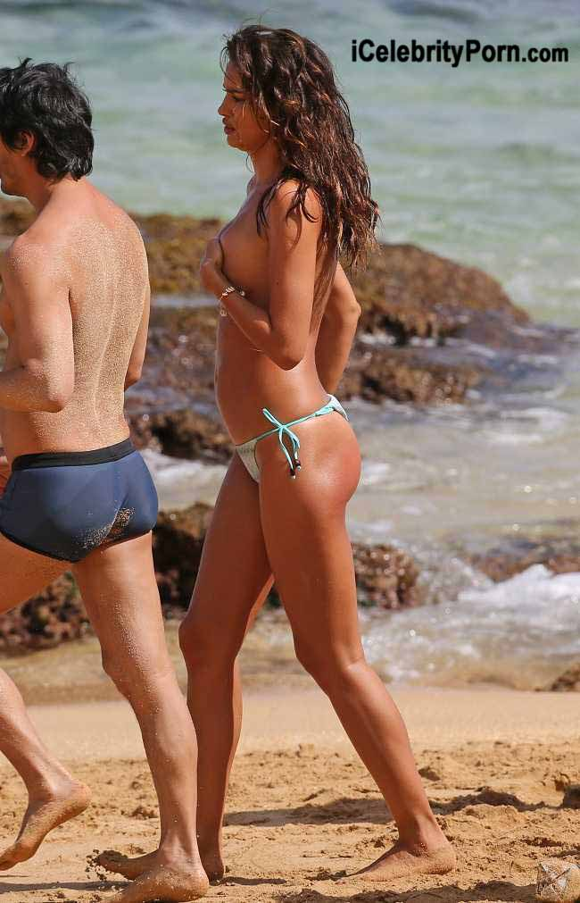xxx Irina Shayk Desnuda en una Playa -famosas-desnudas-icelebrityporn-descuidos-modelos-topless (9)
